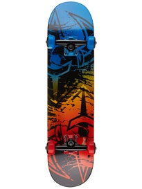 Darkstar Drench Blue/Red Mid Complete  7.375 x 28.6