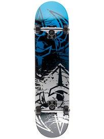 Darkstar Drench Silver/Blue Complete  7.625 x 31