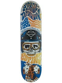 Darkstar Harley-Davidson Legend Orange Deck 8.125x31.8