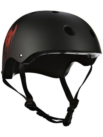 Darkstar Youth Helmet & Pad Set Black