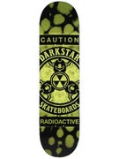 Darkstar Radioactive Army Green Deck  8.25 x 31.7