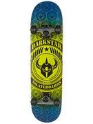 Darkstar Revolt Lime/Blue Mid Complete  7.3 x 28.75
