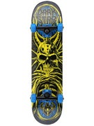 Darkstar Roots Yellow/Blue Mid Complete  7.375 x 28.6