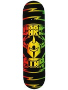 Darkstar Shock V2 Rasta Deck  7.75 x 31.2