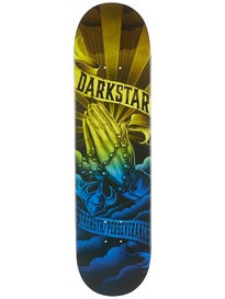 Darkstar Salvation Blue/Yellow Deck  8.125 x 31.8