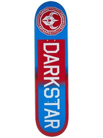 Darkstar Timeworks Red/Blue Fade Deck 7.75 x 31.2
