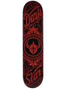 Darkstar Vintage Red Deck  7.5 x 31.1