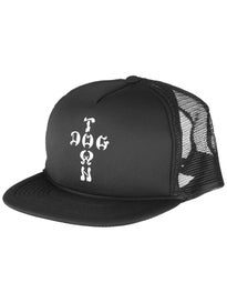 Dogtown Cross Letters Trucker Flip Hat
