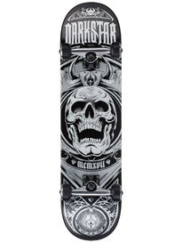 Darkstar Crest Silver Complete  7.75 x 31