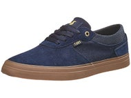 DVS Merced Shoes Navy/Gum Suede