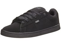 DVS Revival 2 Shoes Black/Black Nubuck