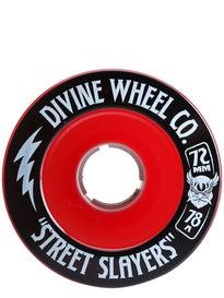 Divine Street Slayers Wheels 72mm