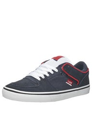 DVS Torey Low Shoes Navy White Suede
