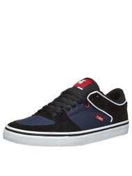 DVS Torey Low Shoes Black/Navy Suede