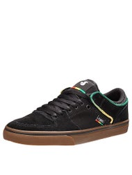 DVS Torey Low Shoes Black Suede/Canvas