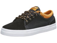 DVS Zack Wallin Aversa Shoes Black/Tan Suede/Canvas