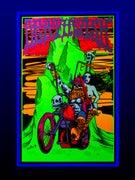 Deathwish Blacklight Velvet Poster 23 x 35