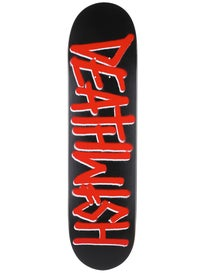 Deathwish Deathspray Black/Red Deck  8.0 x 31.5