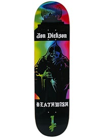 Deathwish Dickson Colors Of Death Deck  8.125 x 31.5