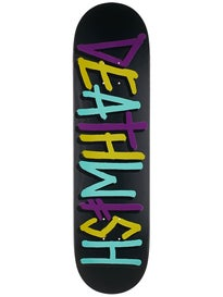 Deathwish Deathspray Multi Purple/Teal Deck 8.125x31.5