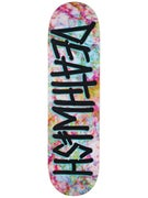 Deathwish Deathspray Acid Black/Aqua Deck  8.5 x 32