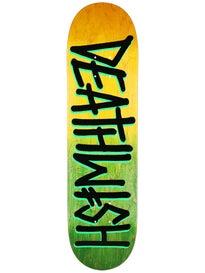 Deathwish Deathspray Grn/Ylw DD Deck  8.0 x 31.5