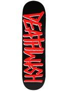 Deathwish Deathspray Black/Red Deck  8.25 x 31.5