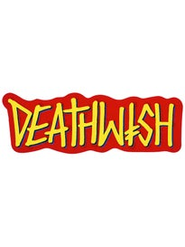 Deathwish Deathspray Sticker 2016 Yellow/Red