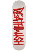 Deathwish Death Spray White/Red Deck 8.75 x 32.5