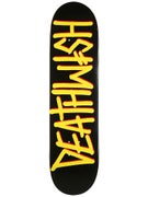Deathwish Deathspray Black/Yellow Deck  8.0 x 31.5
