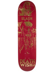 Deathwish Slash Color Of Death 2 Deck 8.125 x 31.5