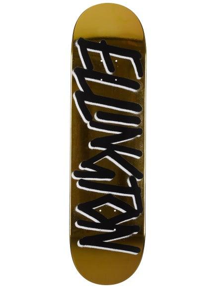 d57ba07d0 Deathwish Ellington Gang Name Gold Deck 8.5 x 32