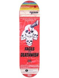 Deathwish Ellington VHS Wasteland Deck 8.125 x 31.5
