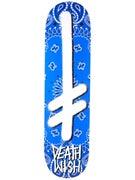 Deathwish Gang Logo Rivals Blue Deck  8.25 x 32