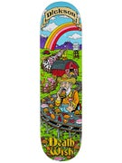 Deathwish Dickson Story Time Deck  8.25 x 32