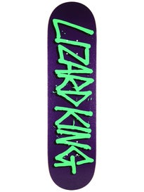 Deathwish Lizard King Gang Name Purple Deck 8.125x31.5