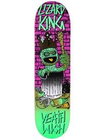 Deathwish Lizard Death Toons Reissue Deck  8.0 x 31.5