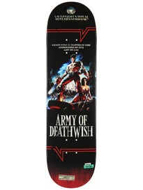 Deathwish Lizard King VHS Wasteland Deck 8.25 x 31.875