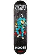Deathwish Moose Mascot Mayhem Deck  8.125 x 31.5