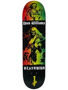 Deathwish Neen Colors Of Death Deck  8.0 x 31.5