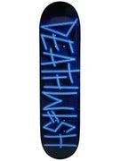 Deathwish Neon Sign Deck  8.0 x 31.5