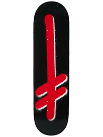 Deathwish Original G Logo Blk/Red Deck  8.475 x 31.875