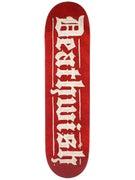 Deathwish Parchment Deck  8.0 x 31.5