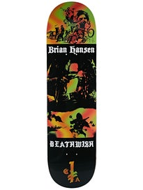 Deathwish Slash Colors Of Death Deck  8.25 x 31.5
