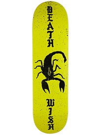 Deathwish Scorpion Deck  8.5 x 32