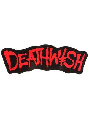 Deathwish Street Spray Sticker Black