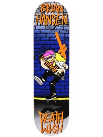 Deathwish Slash Death Toons Reissue Deck  8.125 x 31.5