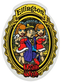 Deathwish Story Time Sticker Ellington