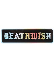 Deathwish Temperance Bumper Sticker
