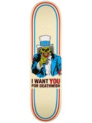 Deathwish Uncle Sam Deck  8.25 x 31.5